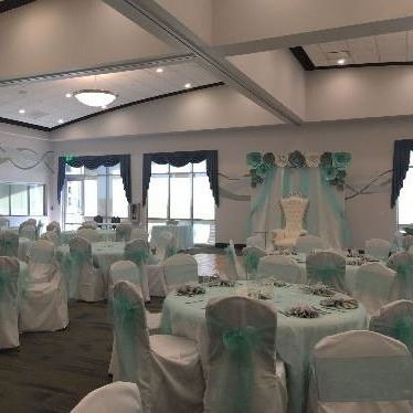 Venue Decoration at the Shores Community Center